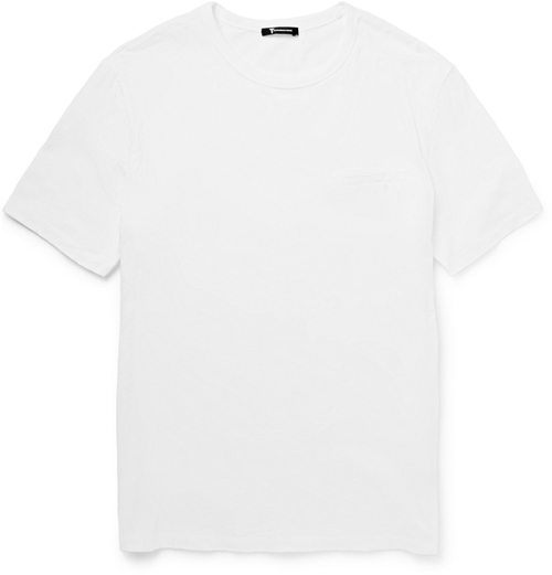 Slubbed Cotton-Jersey T-Shirt by Alexander Wang in Life