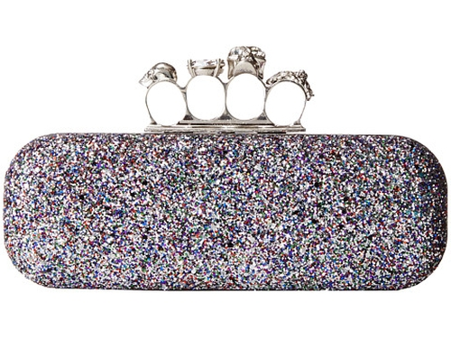 Glitter Clutch Bag by Alexander McQueen in Empire - Season 2 Episode 13