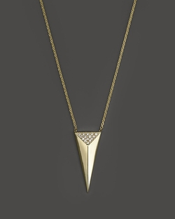 Triangle Pyramid Necklace by Zoë Chicco in Ballers