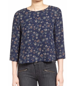'Nadetta' Floral Print Blouse by Cupcakes And Cashmere in The Boss