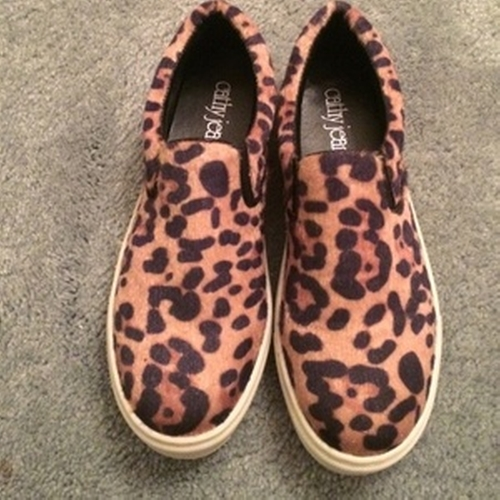 Leopard Slip On Sneakers by Cathy Jean in Pretty Little Liars - Season 6 Episode 18