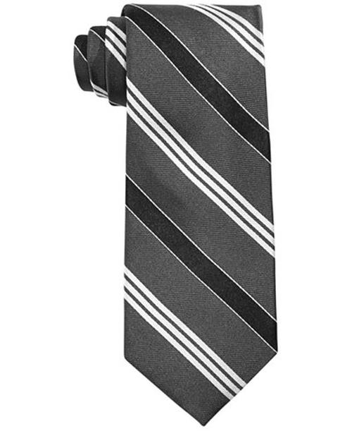 Twill Satin Stripe Tie by Lauren Ralph Lauren in The Night Of - Season 1 Looks