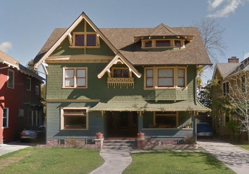 2203 West 20th Street (Depicted as Kappa Ny Sorority House) Los Angeles, California in Neighbors 2: Sorority Rising