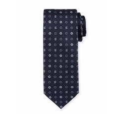 Foulard Woven Silk Tie by Brioni in Suits