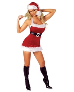 Chic Sexy Santa Costume by Costume Discounters in A Very Murray Christmas