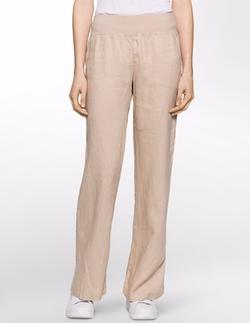 Linen Pants by Calvin Klein in The Boss