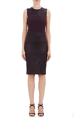 Leather Sheath Dress by Narciso Rodriguez in The Good Wife