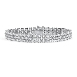 Triple-Row Tennis Bracelet by Lux in Fuller House