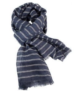 Woven Linen Stripe Scarf by Pisu Bazaar in Jessica Jones