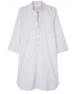 Rebecca Sand Stripe Nightshirt by Angelily in The Mindy Project