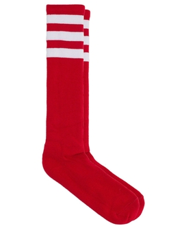 Stripe Knee-High Sock by American Apparel in The Mindy Project