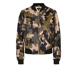 Pink Camo MA1 Bomber Jacket by Topshop in Pretty Little Liars
