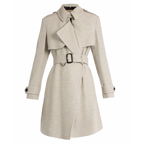 Leveson Cashmere Trench Coat by Burberry London in How To Get Away With Murder - Season 4 Episode 5