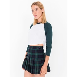 Plaid Tennis Skirt by American Apparel in Teenage Mutant Ninja Turtles: Out of the Shadows