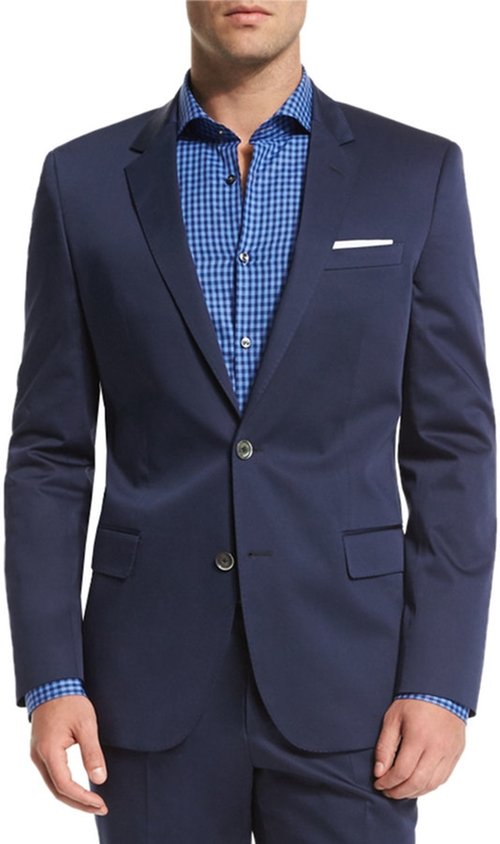 Hutson Gander Slim-Fit Two-Piece Suit by Boss Hugo Boss in Empire