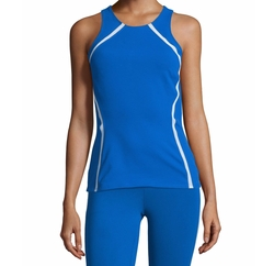 Studio Mesh-Panel Athletic Tank Top by Heroine Sport in Jane the Virgin