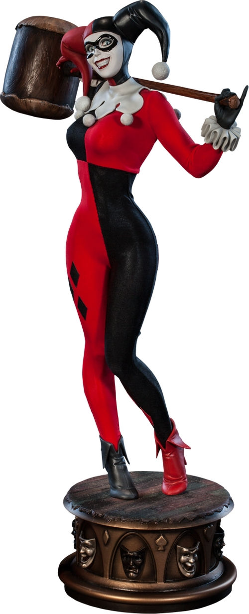 Harley Quinn Premium Format Figure by Sideshow Collectibles in The Big Bang Theory - Season 9 Episode 4