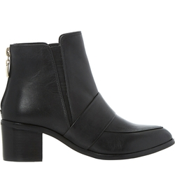 Peeti Leather Loafer Ankle Boots by Dune in Brooklyn Nine-Nine