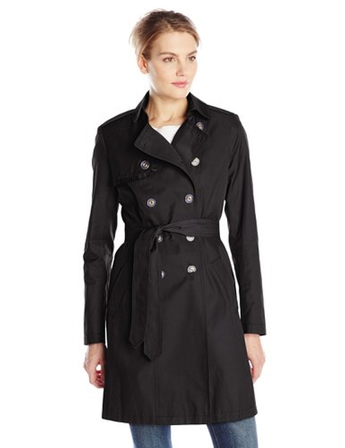 Women's Heather Double-Breasted Trench Coat by T Tahari in The Twilight Saga: Breaking Dawn - Part 2
