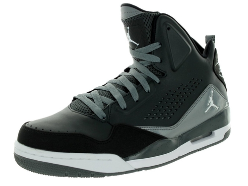 SC-3 Basketball Shoes by Jordan in Black-ish