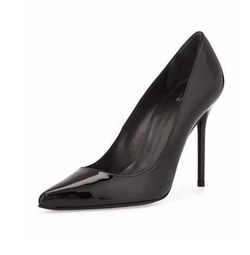 Nouveau Patent Point-Toe Pumps by Stuart Weitzman in Designated Survivor