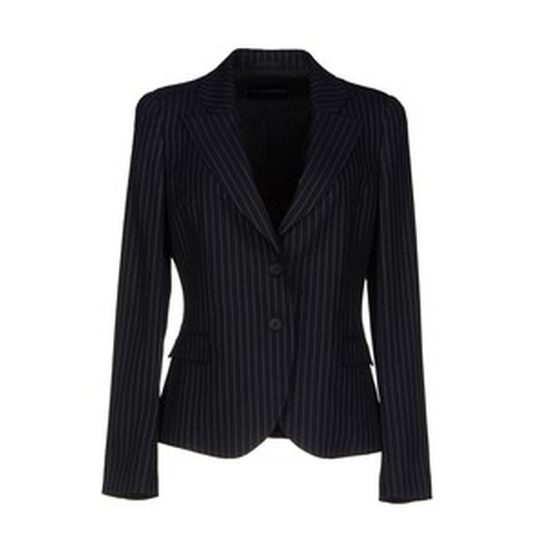 Pinstripe Blazer Lapel Collar Single Breasted by Armani in Scandal - Season 5 Episode 1
