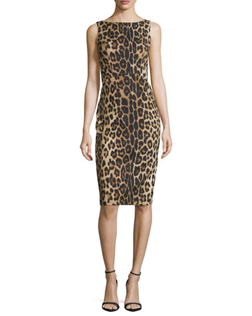 Shadow Leopard-Print Sheath Dress by Altuzarra in Empire - Season 2 Episode 1