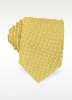Solid Woven Silk Tie by Forzieri in The Good Wife