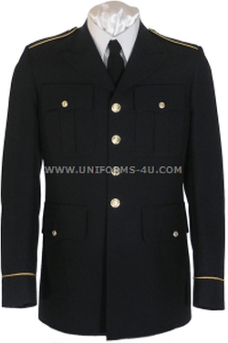 US Army ASU Enlisted Dress Blue Coat by The Salute Uniforms in The Spy Who Loved Me