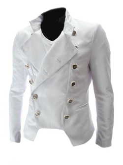Men's Double Breasted Slim Fit Blazer by Give Me Five in Popstar: Never Stop Never Stopping