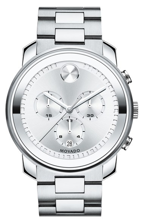 'Bold' Chronograph Bracelet Watch by Movado in The Blacklist - Season 3 Episode 4