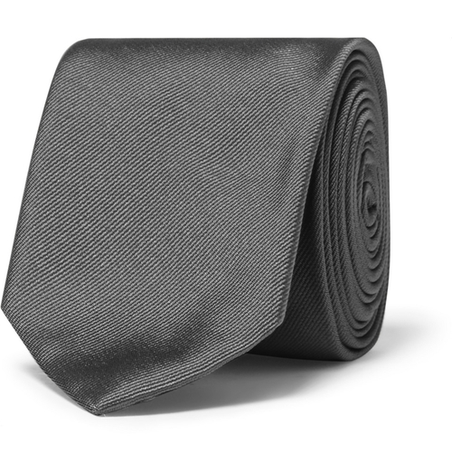 Silk-Twill Tie by Dolce & Gabbana in Legend