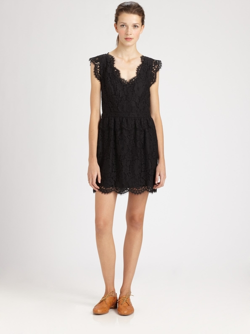 Lebanon Lace Cap-Sleeve Dress by Joie in The Twilight Saga: Breaking Dawn - Part 2