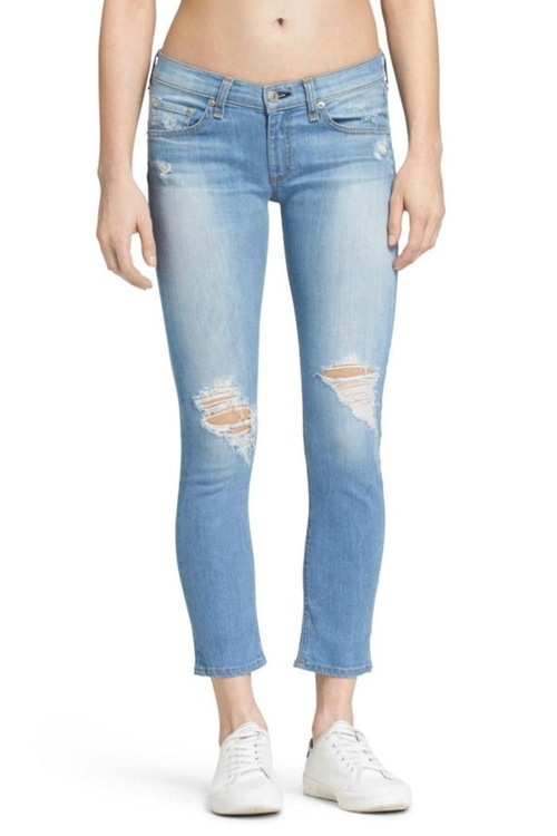 Skinny Capri Ryder Jeans by Rag & Bone/Jean in Pretty Little Liars - Season 7 Episode 6