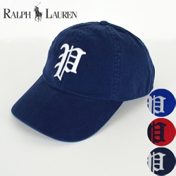 Gothic P Baseball Cap by Polo Ralph Lauren in Modern Family