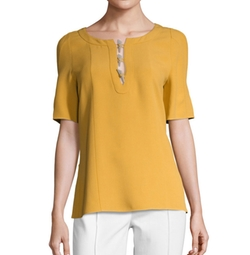 Split Toggle Blouse by Derek Lam in Marvel's Iron Fist