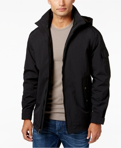 Full-Zip Stand-Collar Jacket by Weatherproof in The Bourne Ultimatum