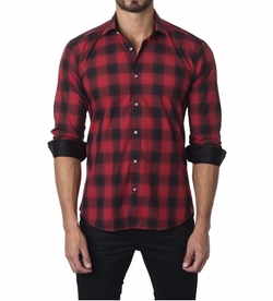 Plaid Sport Shirt by Unsimply Stitched in Power