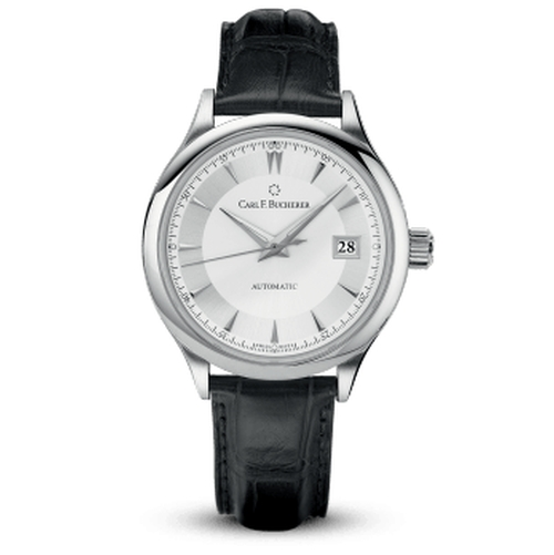 Manero AutoDate Automatic Leather Watch by Carl F. Bucherer in John Wick