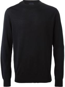 Crew Neck Sweater by Lanvin in Demolition