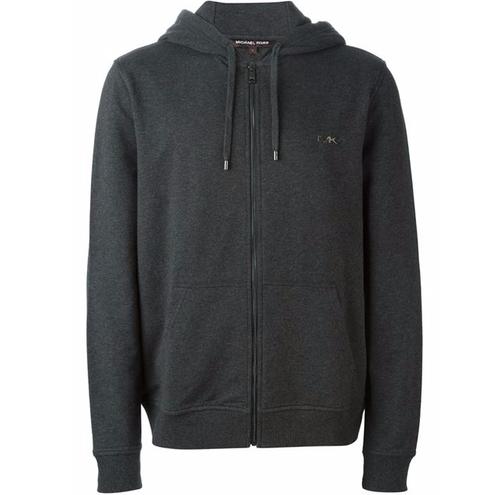 Zip Hoodie Jacket by Michael Kors in Criminal