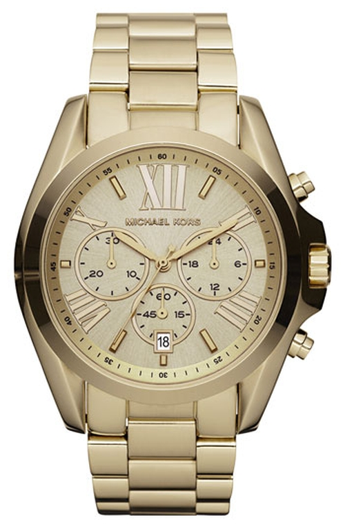 'Bradshaw' Chronograph Bracelet Watch by Michael Michael Kors in How To Get Away With Murder - Season 2 Episode 3