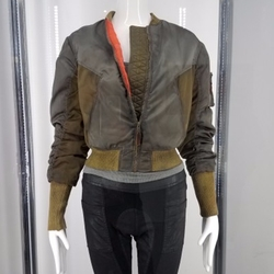 Custom Made Bomber Jacket by Kurt and Bart (Costume Designer) in Ghost in the Shell