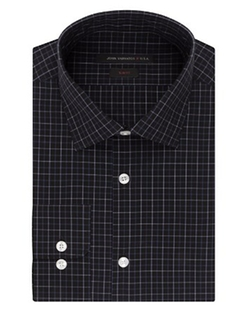 Check Slim Fit Dress Shirt by John Varvatos Star USA in The Mindy Project