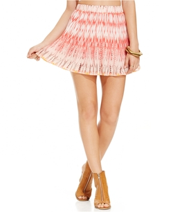 Pleated Printed Skirt by American Rag in My All American