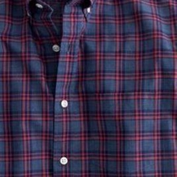 Secret Wash Check Shirt by J. Crew in The Flash