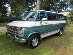 1978 Rally STX Van by GMC in Wet Hot American Summer