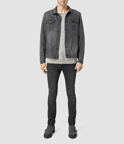 Eucild Denim Jacket by All Saints in The Big Bang Theory