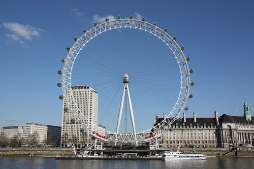 London Eye London, United Kingdom in London Has Fallen