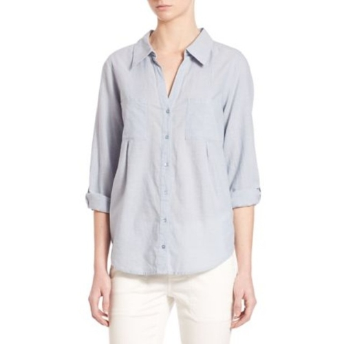 Cartel Button-Front Chambray Shirt by Joie in Modern Family